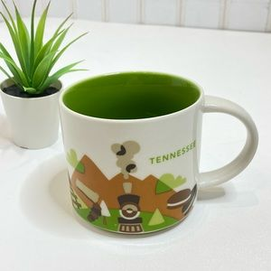 Starbucks 'you are here collection' Tennessee mug